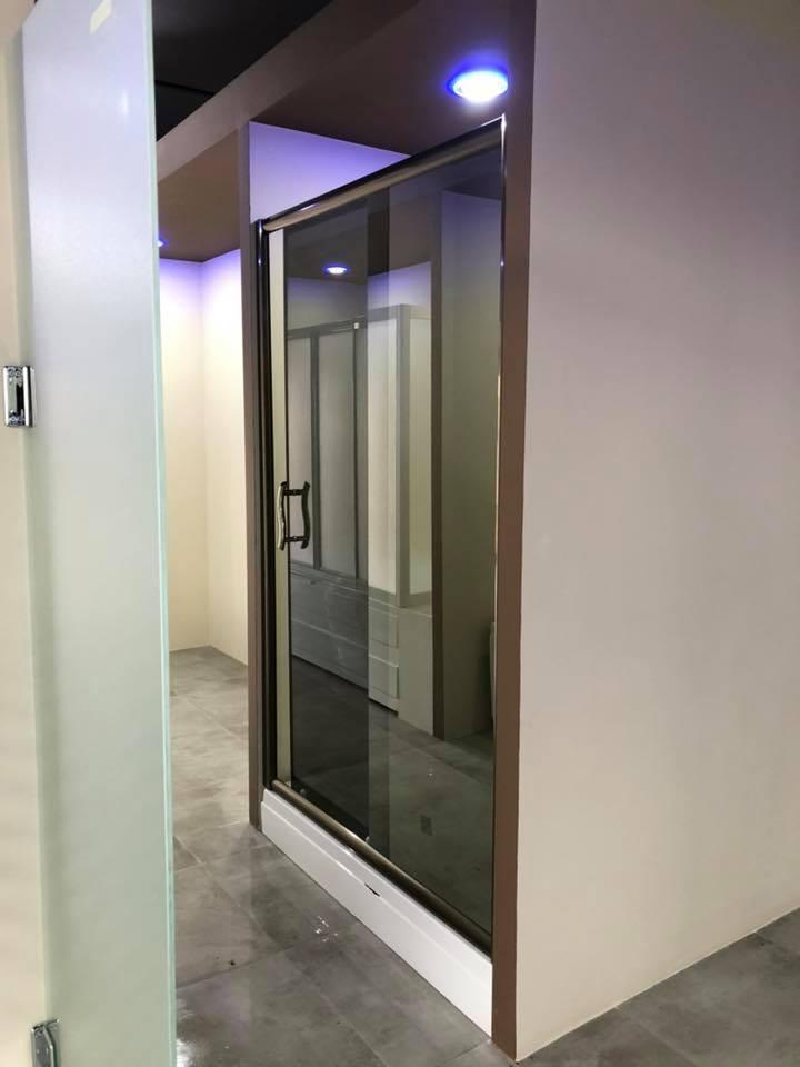 Süper Lüx Bronz Profil Reflekte Cam İki Duvar Arası